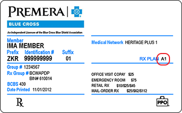 Rx Search | Provider | Premera Blue Cross
