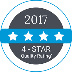 star quality badge