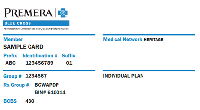 New Member ID Cards for 2020 Individual Plans | Provider | Premera Blue Cross